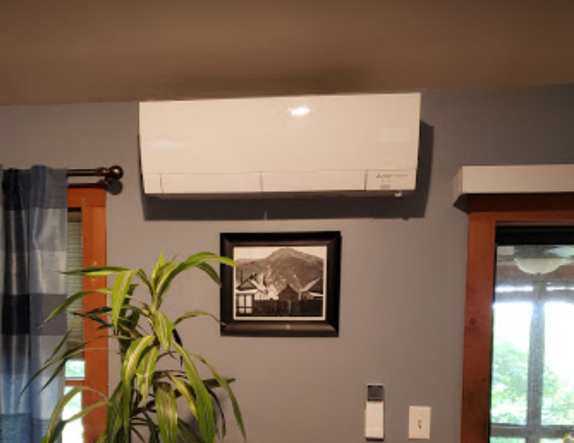 Ductless Mini-Split Unit Installed